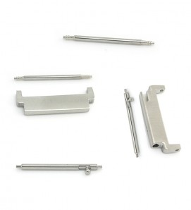 Stainless steel connectors For Samsung Watch or 20mm - 2Pcs