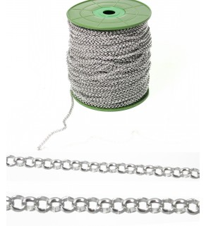 Rolo Chain 316L - 1m