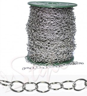 Hollow Oval Chain 316L...